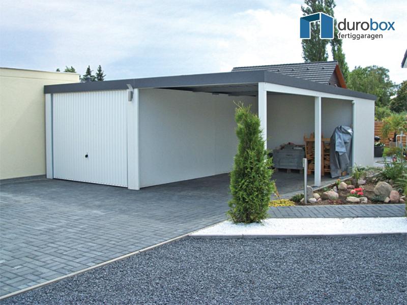 Carport En Garage : Discount garagen garage mit carport typ superior
