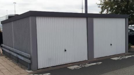 Fertiggarage beton roh  Discount-Garagen.de - Doppelgaragen, Fertiggaragen für zwei Autos ...
