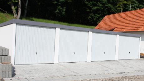 Fertiggarage Reihengarage Garagenanlage