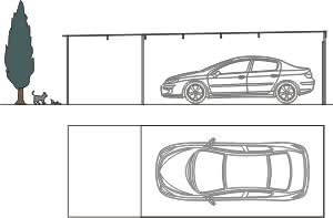 Fertig doppelgarage mit abstellraum  Discount-Garagen.de - Unsere Fertiggaragen - Garagen mit Abstellraum